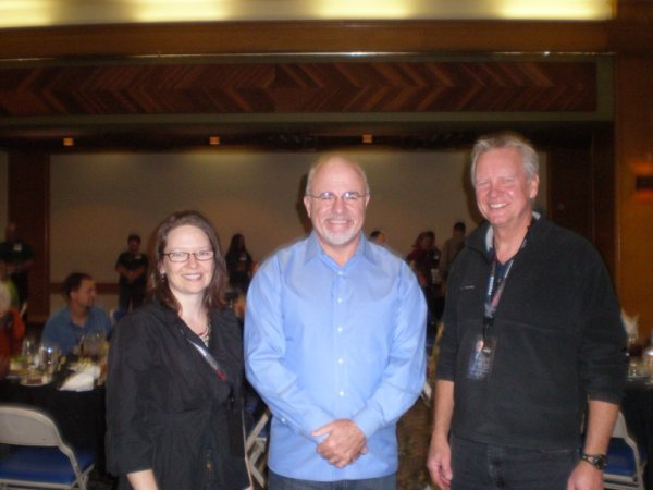 Dana and Ron with Dave Ramsey